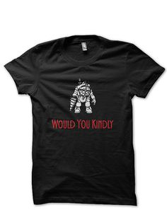 Bioshock Big Daddy Would you kindly Womens by TheEdgeApparel, $15.95