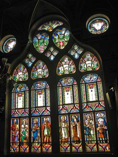 Hungarian stained glass.
