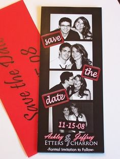 Event Confetti: Wedding Save-the-Date Announcements