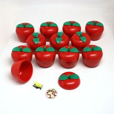 Amazon.com : Toy Filled Plastic Bobbing Apples : package of 12 : Childrens Party Supplies : Toys & Games