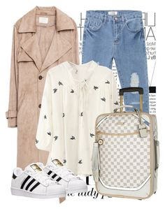 """""""Untitled #1240"""" by noviii ❤ liked on Polyvore featuring Zara, River Island and adidas"""