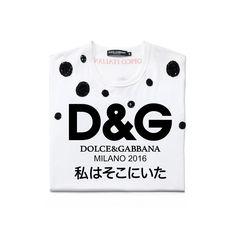 「ドルチェ&ガッバーナ(Dolce&Gabbana)」が、2017年春夏ウィメンズコレクションのショーでフィナーレを飾ったロゴTシャツを発売する。「D&G」のロゴと共に「I WAS THERE(私はそこにいた)」というメッセージが様々な言語でプリントされている。