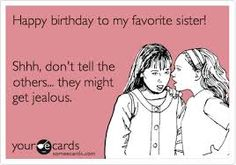 Image result for funny sister birthday cards Happy Birthday Little Sister, Cute Sister, Happy Birthday Cards, Funny Sister, Birthday Parties, Birthday Clips, Love My Family, Sister Quotes, Jokes Quotes