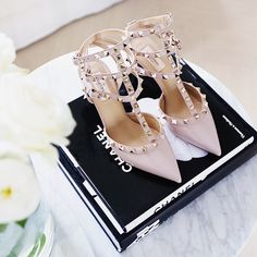 Dream shoes.  more on the blog! #valentino