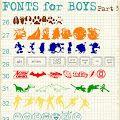 Boy fonts iii