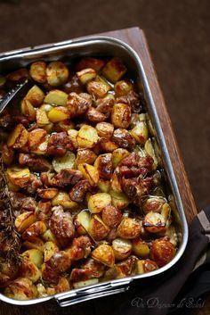 Agneau et pommes de terre au four comme en Italie -> En remplaçant l'agneau !