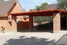 PERGOLAS Y QUINCHOS: quinchos Rv Shelter, Tarp Shelters, Backyard Kitchen, Backyard Patio, Patio Design, House Design, Shelter Design, Carport Designs, Diy Rv