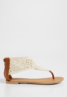 Audra crocheted sandal (original price, $29.00) available at #Maurices