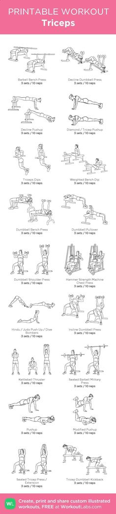 """Fitness Motivation : Illustration Description awesome Free Printable Workouts & Custom Routine Builder – WorkoutLabs """"The difference between the impossible and the possible lies in a person's determination"""" ! Fitness Workouts, Easy Workouts, At Home Workouts, Chest Workouts, Men's Fitness, Fitness Motivation, Muscle Fitness, Bike Workouts, Swimming Workouts"""