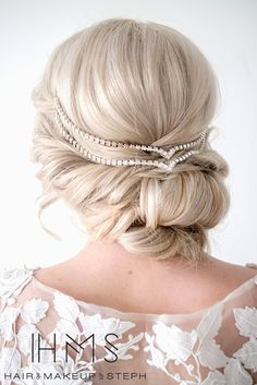 Wedding Updo #wedding #hairstyle