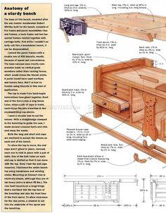 #243 Rock-Solid Workbench Plans - Workshop Solutions