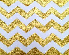 gold chevron for photobooth backdrop!