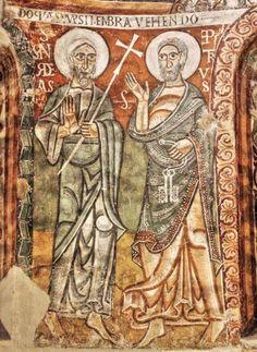 Frescos de la Seo de Urgel - Ábside de la iglesia de Sant Pere