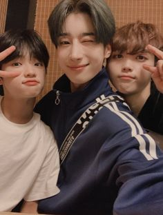 seungwoo and the babies Yohan Kim, Have A Good Night, Thing 1, Picture Credit, Kpop Boy, Boyfriend Material, K Idols, My Boys, Boy Groups