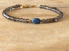 A personal favourite from my Etsy shop https://www.etsy.com/no-en/listing/601766339/smoky-quartz-bracelet-with-lapis-lazuli