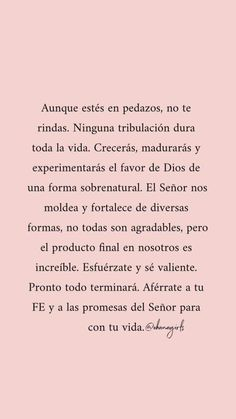 Biblical Verses, Bible Verses Quotes, Faith Quotes, True Quotes, Gods Love Quotes, Quotes About God, The Words, Spanish Inspirational Quotes, Motivational Phrases