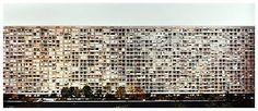 Gursky  Montparnasse  1993  C-print mounted to plexiglas in artist's frame   81 x 166 inches; 205.5 x 421.5 cm