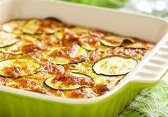 Zucchini cheese casserole