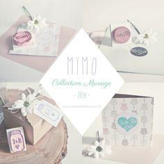 Mïmo - Collection Mariage  Rubber stamp http://carnetdedouceurs.fr Blog toulousain - Création - Photographie - Découvertes - par la créatrice de Tampons Mïmo