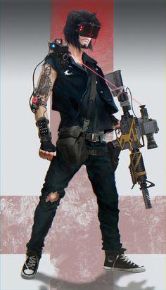 — Cyberpunk, kaiten:  Cyber-Infidel by mAx-Gavr - CGHUB