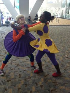EPIC COSPLAY OF THE DAY: Susie and Angelica!