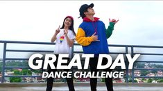 """Ayo so here's the official dance challenge for our latest single """"Great Day"""" Now It's time for you guys to do it! Ranz Kyle, Siblings Goals, Baymax, Challenges, Dance, Guys, My Favorite Things, Funny, Youtube"""