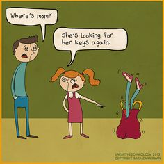 Funny comic about parenting from Unearthed Comics!   #parents #humor #kids