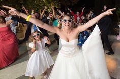 Idea per una non convenzionale, flash mob al matrimonio | Unconventional bride doing a wedding flash-mob | @ Villa Augusta, Ariccia