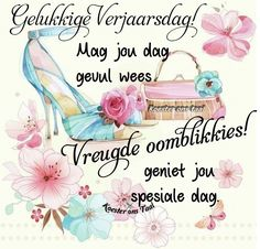 Best Birthday Wishes Quotes, Afrikaanse Quotes, Happy B Day, Videos Funny, Birthday Cards, Birthdays, Language, Place Card Holders, Messages