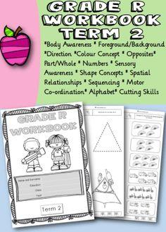 Grade R Workbook Term 2 - School Diva Alphabet, Positivity, Relationship, Concept, Education, Alpha Bet, Onderwijs, Learning, Relationships