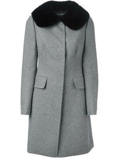 Dolce & Gabbana fur collar coat