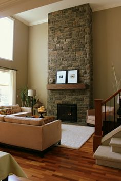 CREATING A COZY ROOM WITH VAULTED CEILINGS ~ Our Suburban Cottage