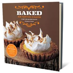 Recipes From the Baked Cookbook