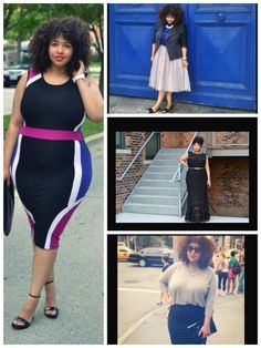 My #1 Favorite Fashion Blogger. The One & Only # GabiFresh . I Love Her Sooo much she Inspires me.(amazing) Plus Size Fasion