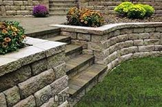 Retaining Wall by Landscape East and West, Clackamas, Oregon