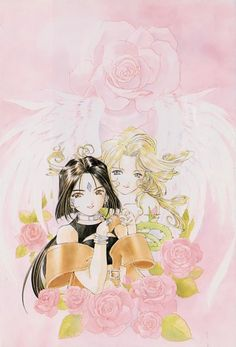 Coloured Angel and Goddess by ~lish-chan | Manga & Anime ...