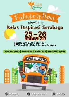 Event Poster Roadhow Kelas Inspirasi Surabaya