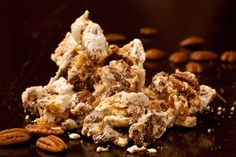 Receive three (3) bags of handcrafted nut confections delivered each month. Flavors include smoked paprika almonds, chipotle lime peanuts, almond peanut brittle, and more $26 /month