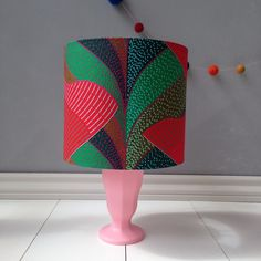 A personal favourite from my Etsy shop https://www.etsy.com/uk/listing/242041087/20-cm-african-print-lampshade-drum