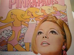 Vintage Ad The Pink-A-Pades Make-up by Max Factor by JVoyage
