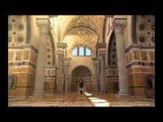 Reconstrución en 3d da Basílica de Maxencio e Constantino.