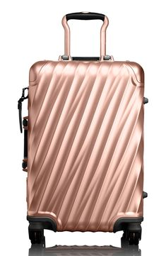 7 Cute Luggage Pieces to Travel with - Tumi International19 Degree Aluminum Carry-On from InStyle.com