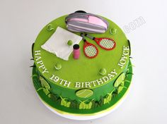 #Tennis cake - for all your cake decorating supplies, please visit craftcompany.co.uk