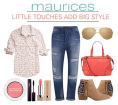 Little Touches Add Big Style ( maurices Contest Summer Lovin' ) by latoyacl on Polyvore featuring polyvore, fashion, style, maurices, Maison Scotch, HOWSTY, Linda Farrow, Bare Escentuals and INIKA