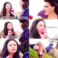 """Snow and Regina 1x21 """"An Apple As Red As Blood"""""""