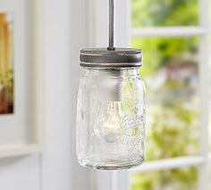 Pendant Lighting, Pendant Light Fixtures & Lights | Pottery Barn - exeter single pendant