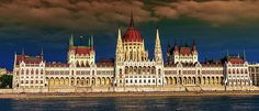 Hungarian Parliament Building In Budapest, Hungary by Elenarts - Elena Duvernay photo Famous Places, Budapest Hungary, Travel Photos, Fine Art America, Sunset, Building, Prints, Sunsets, Travel Pictures