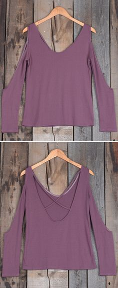 Channel your love of casual styles in this stunning cold shoulder top. Whether you're home by curfew or keep the party going all night, this will be the perfect companion!