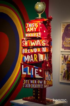 Bob & Roberta Smith - This is Amy Winehouse Amy Winehouse, Bob, Collaboration, Creative, Artworks, Shell, Drama, Photography, College