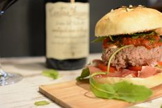 Was heißt Burger auf italienisch? Hamburger, Beef, Ethnic Recipes, Food, Meat, Vegan Recipes, Thanks, You're Welcome, Binder